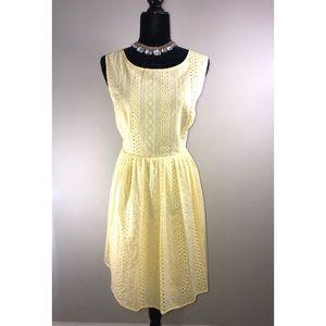LC LAUREN CONRAD Lace Sun Dress